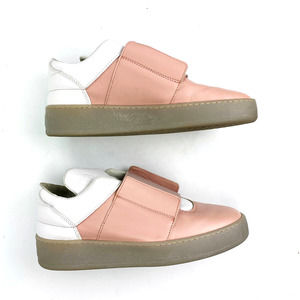 Filling Pieces Leather Platform Sneaker Pink White